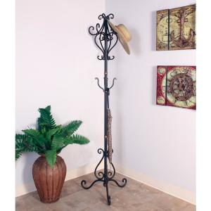 Mario Industries Oil-Rubbed Bronze Scrolled Coat Tree by Mario Industries