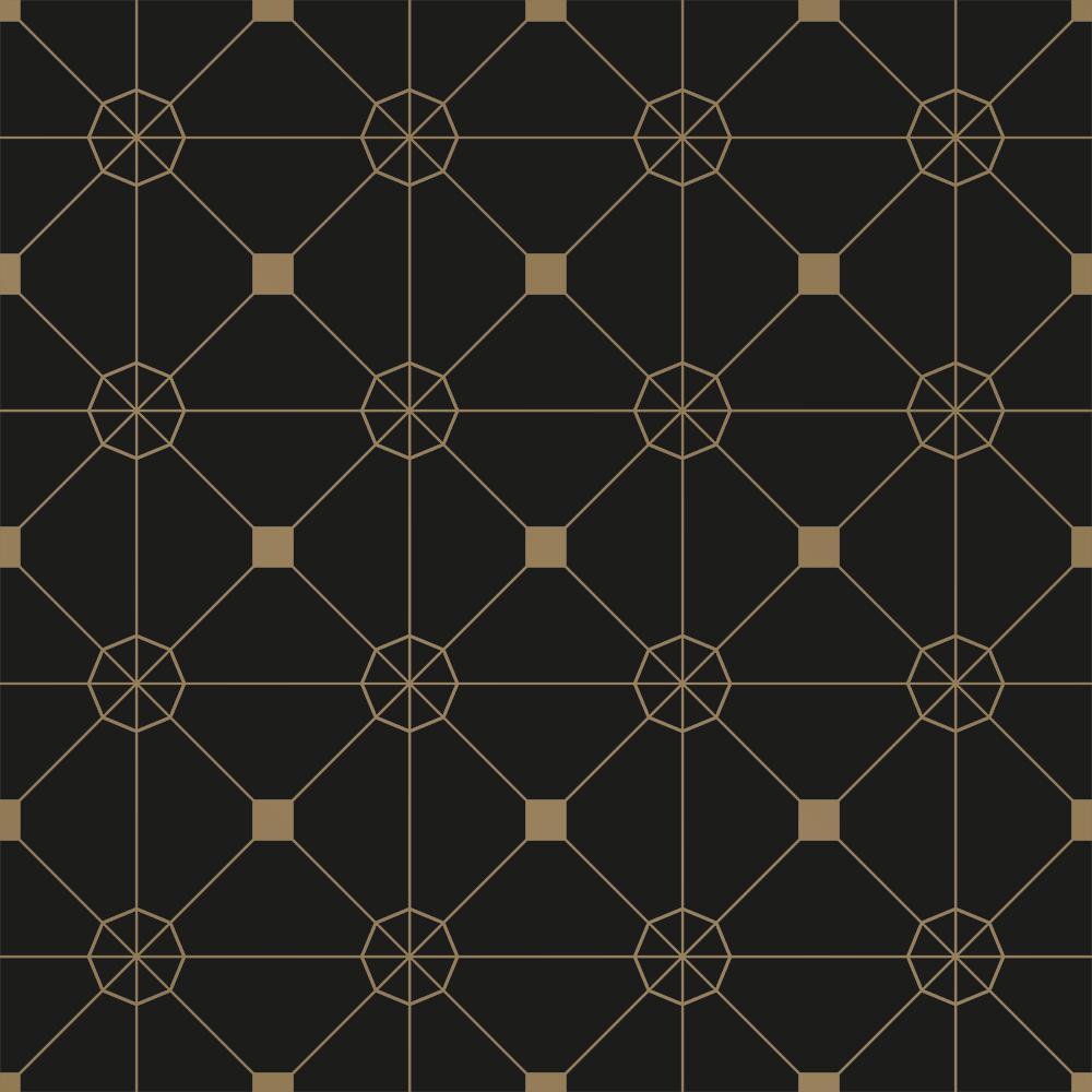 Zodiac Noir Peel and Stick Wallpaper 28 sq. ft.