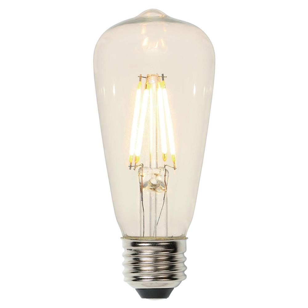 Westinghouse 40w Equivalent Amber St20 Dimmable Filament: Westinghouse 60-Watt Equivalent Soft White ST15 Dimmable
