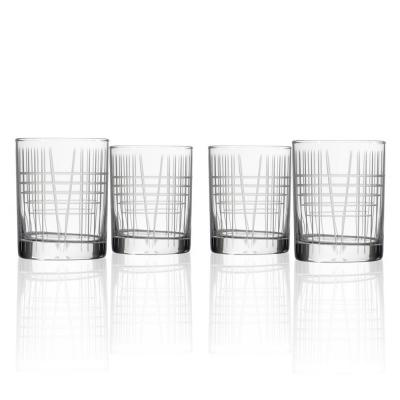 Art Deco Whiskey Glasses Cocktail Glasses The Home Depot