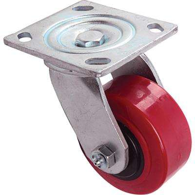 4 in. Polyurethane Swivel Caster with 600 lb. Load Rating