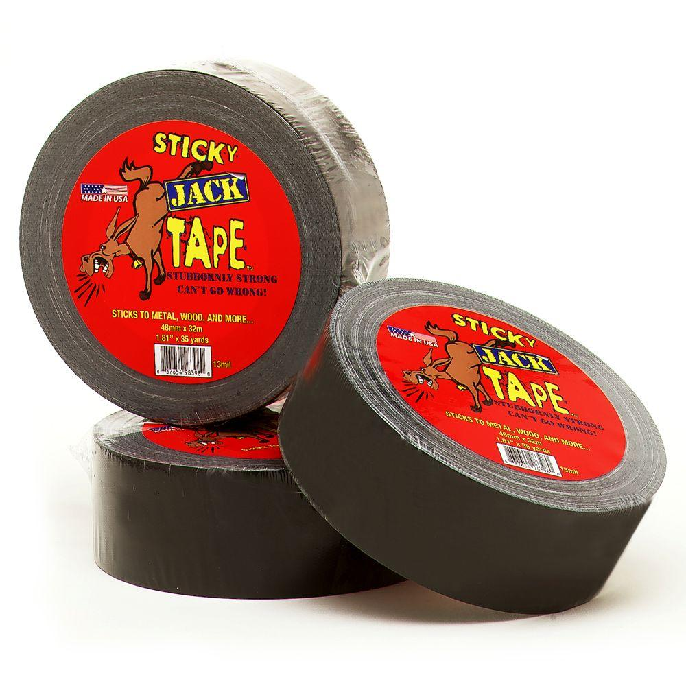 Sticky Jack Multi-Pack - 3 35 yd Rolls of Tape