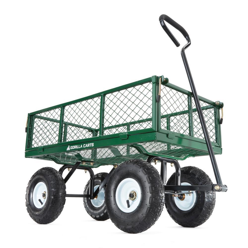 400 lb. Steel Utility Cart