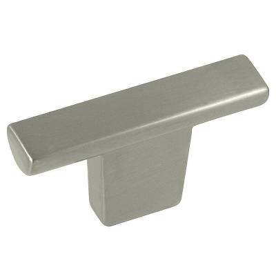 Cosmo 2 in. Satin Nickel T-Knob