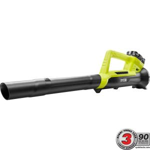 Ryobi ONE+ 90 MPH 200 CFM 18-Volt Lithium-Ion Cordless Leaf Blower - 2.0 Ah Battery and Charger Included by Ryobi