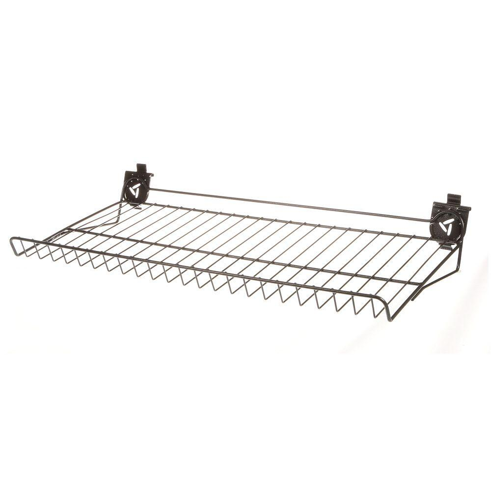 Gladiator 30 in. W x 15 in. D Ventilated Shoe Shelf for GearTrack or GearWall