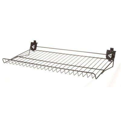 30 in. W x 15 in. D Ventilated Shoe Shelf for GearTrack or GearWall