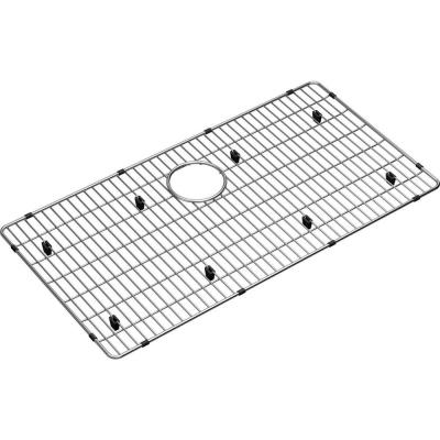 Crosstown 29 in. x 15.25 in. Bottom Grid for Kitchen Sink in Stainless Steel