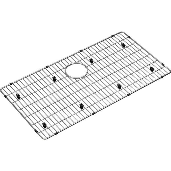 Elkay Crosstown 29 In X 15 25 In Bottom Grid For Kitchen Sink In Stainless Steel Ctxbg2915 The Home Depot