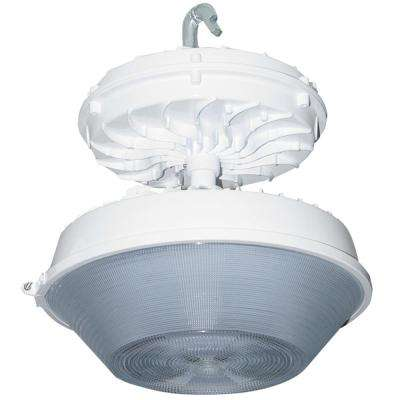 169-Watt White Integrated LED Indoor High Bay with Drop Lens