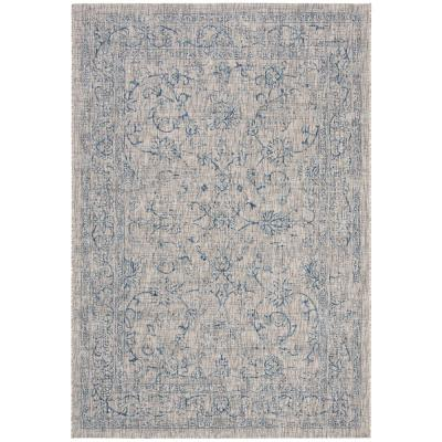 Gray Outdoor Rugs The Home Depot