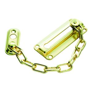 First Watch Security Polished Brass Chain Door Guard-1870 ...