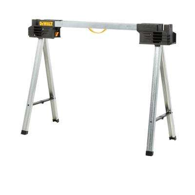 32 in. Metal Folding Sawhorse