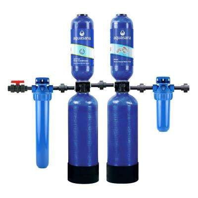 Rhino Series 5-Stage 300,000 Gal. Whole House Water Filtration System w/ Salt-Free Water Conditioner & 20 in. Pre-Filter