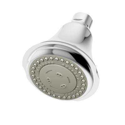 Carrington 3-Spray 4 in. Fixed Shower Head in Chrome