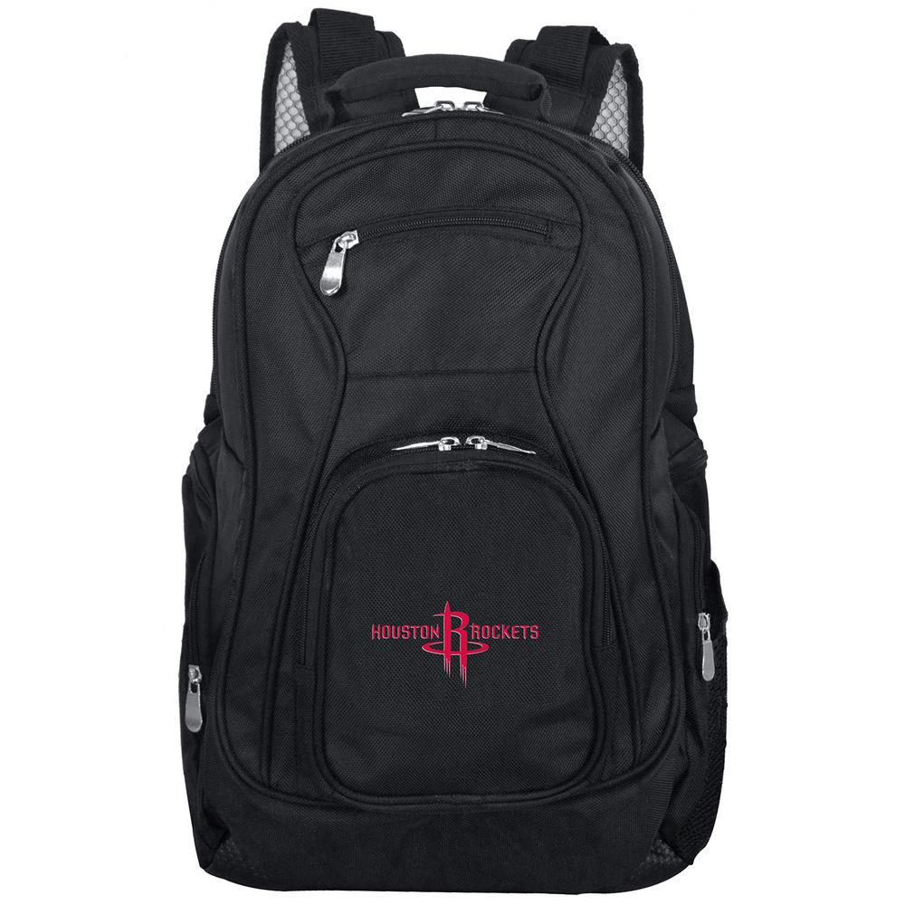 NBA Houston Rockets Black Backpack Laptop