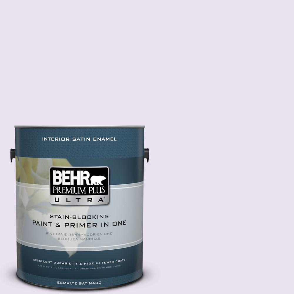 BEHR Premium Plus Ultra 1-gal. #660A-1 Muted Melody Satin Enamel Interior Paint
