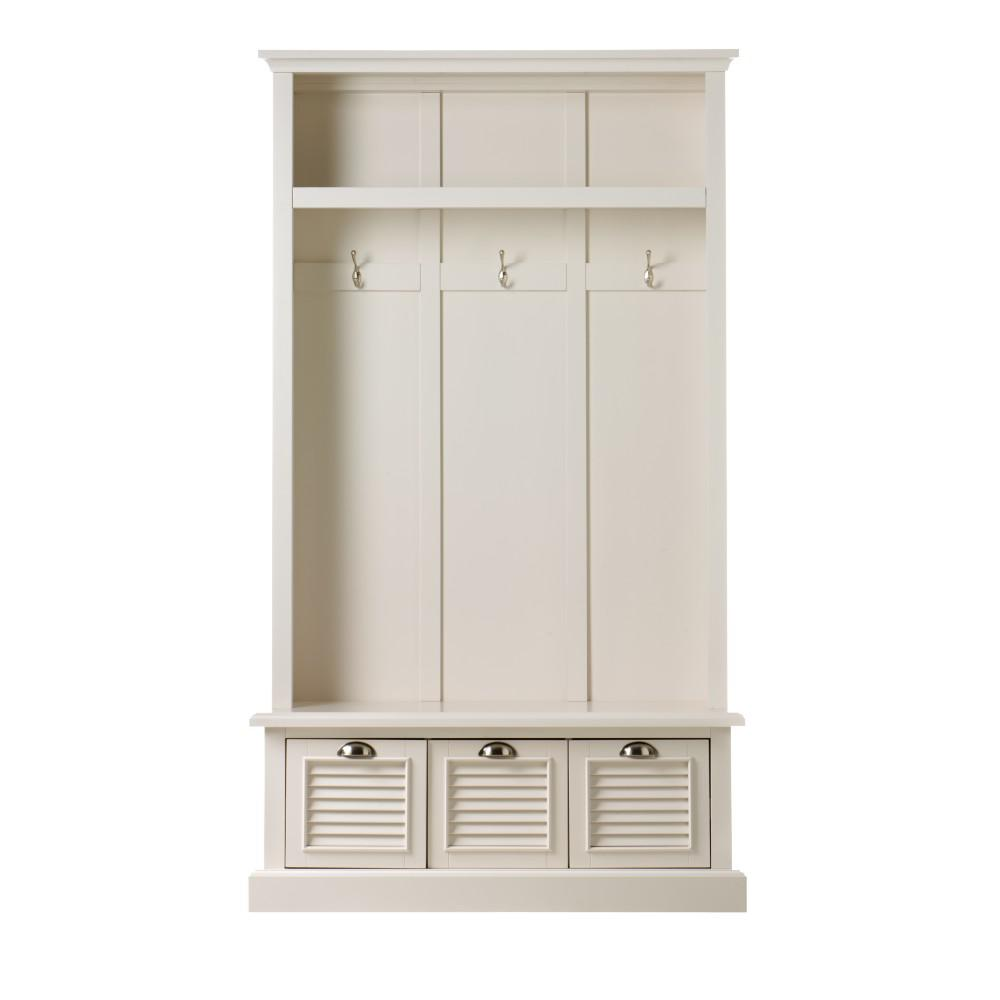 Home Decorators Warehouse Sale: Home Decorators Collection Shutter Polar White Hall Tree