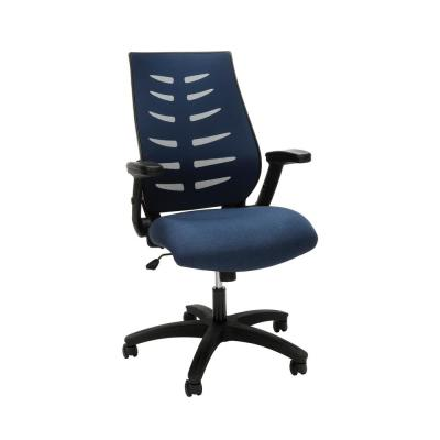 Core Collection Blue Midback Mesh Office Chair for Computer Desk