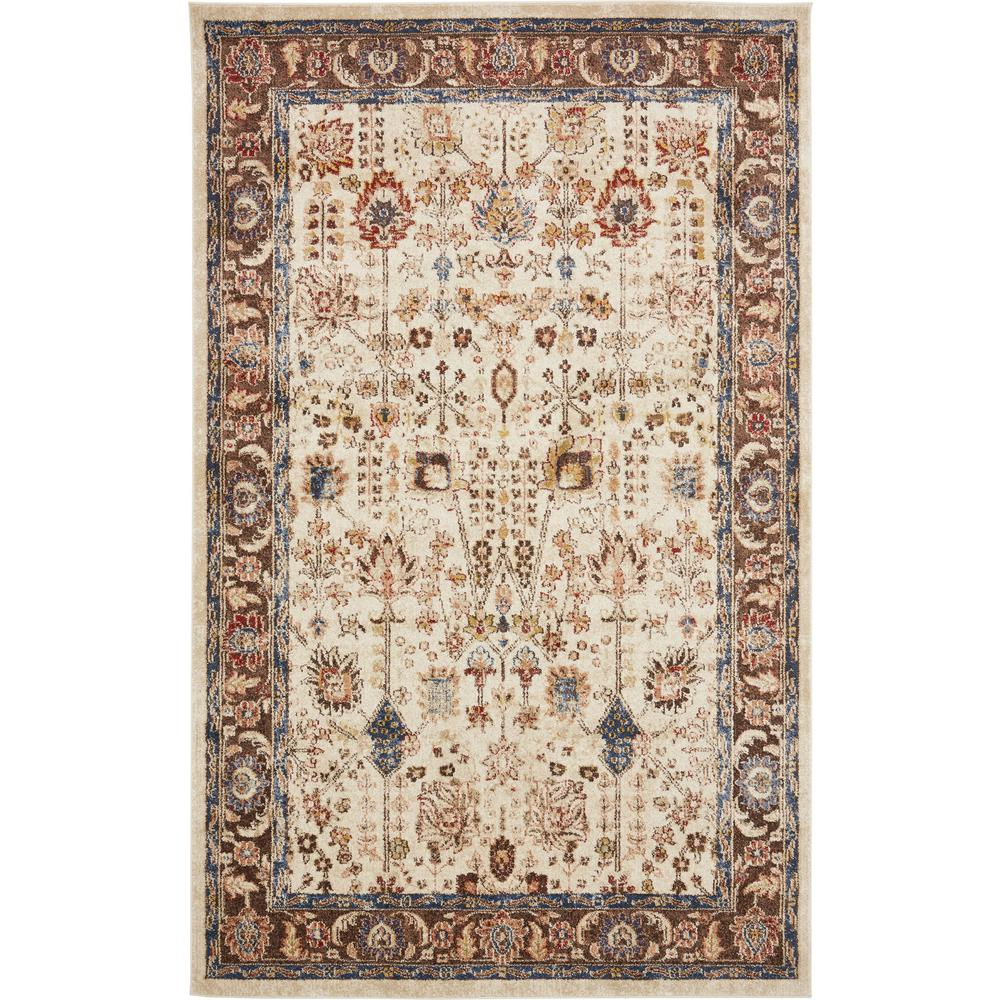 Unique Loom Utopia Beige 5 X 8 Rug