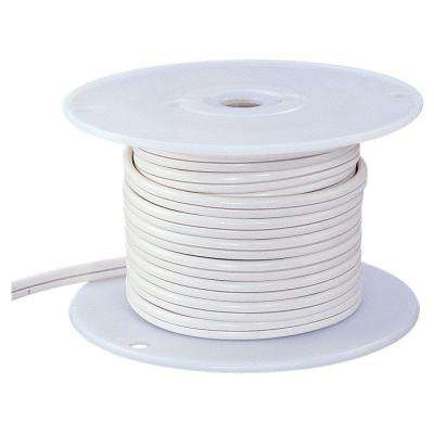 Ambiance 100 ft. White Indoor Lx Cable