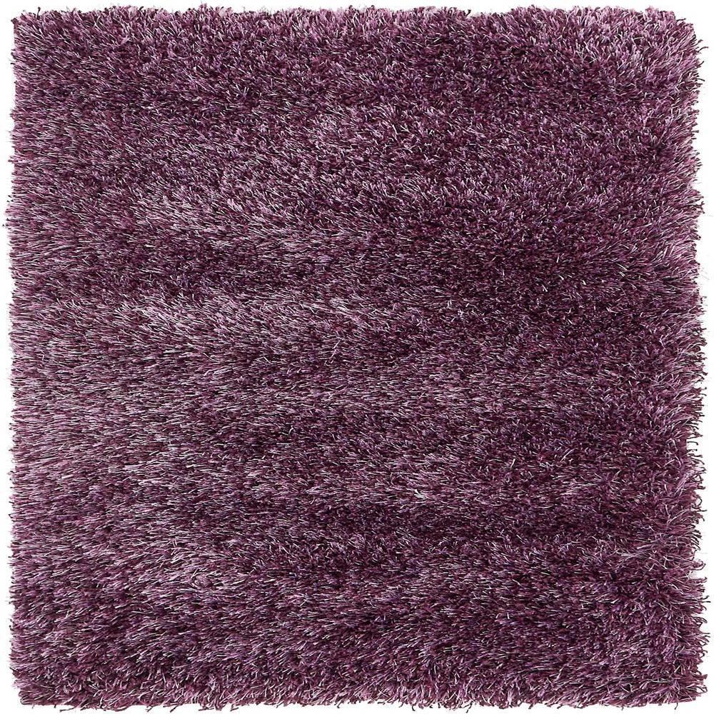 Unique Loom Trellis Purple 8 Ft. X 8 Ft. Square Area Rug