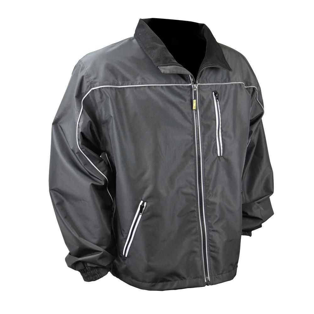 Unisex Small Black Lightweight Shell Heated Jacket