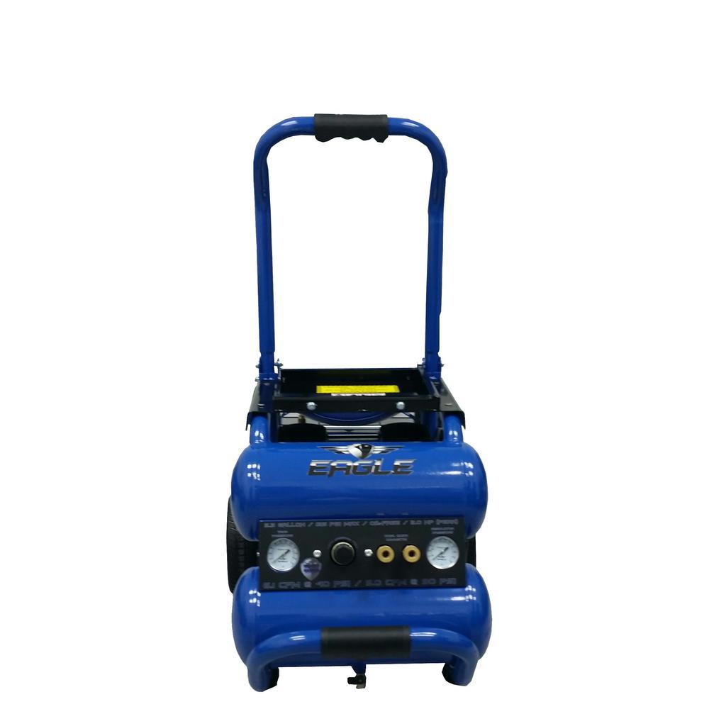 Silent Series, 2.0 HP Electric 115-Volt, Oil Free Air Compressor