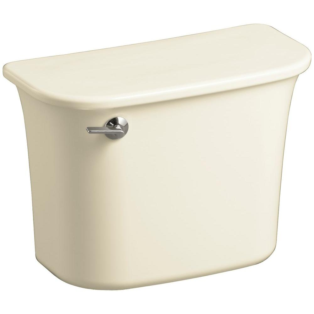 STERLING Stinson 1.6 GPF Single Flush Toilet Tank Only in Biscuit
