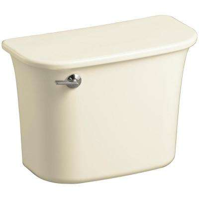 Stinson 1.6 GPF Single Flush Toilet Tank Only in Biscuit