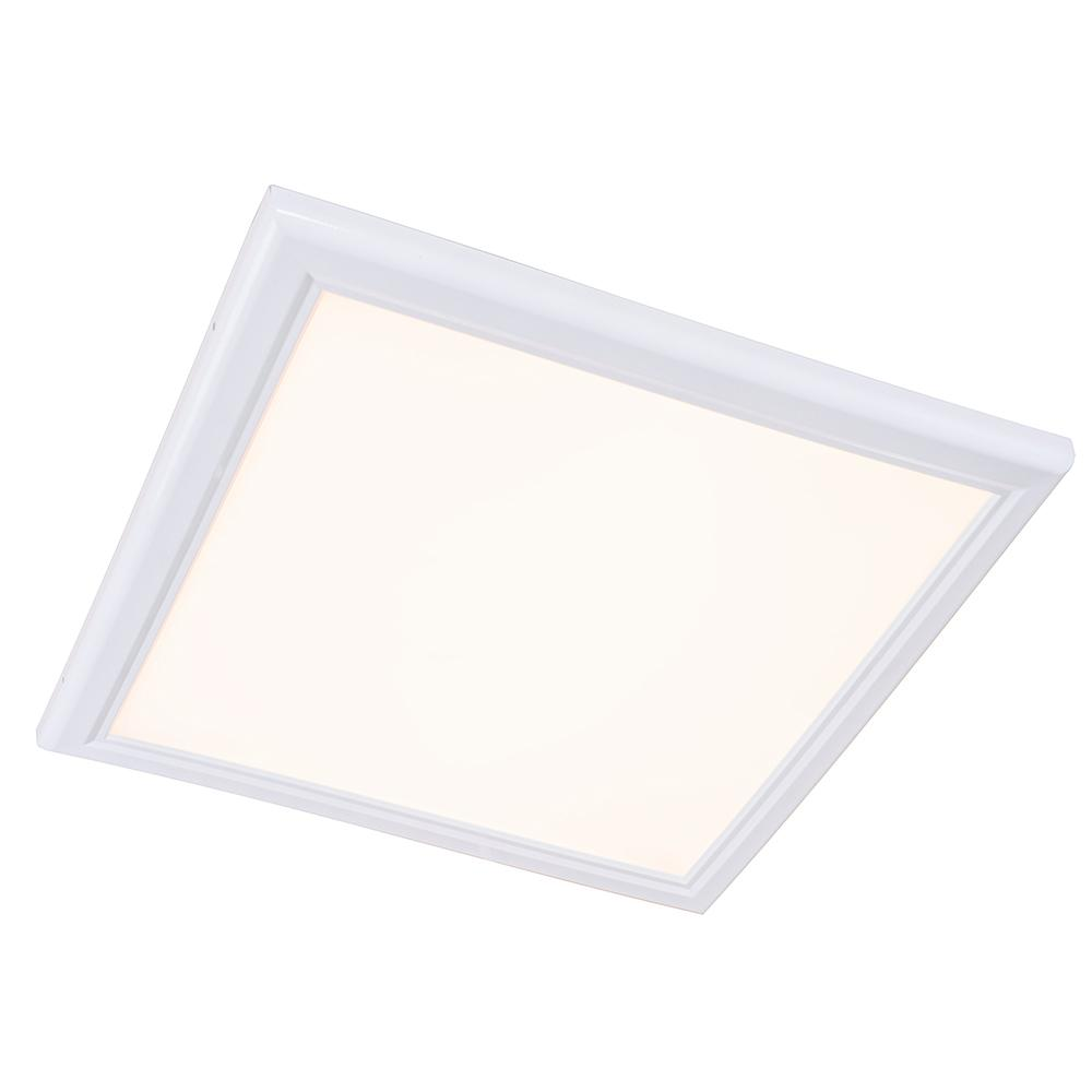 2 ft. X 2 ft.White Edge-Lit 52-Watt 2700K Integrated LED Troffer