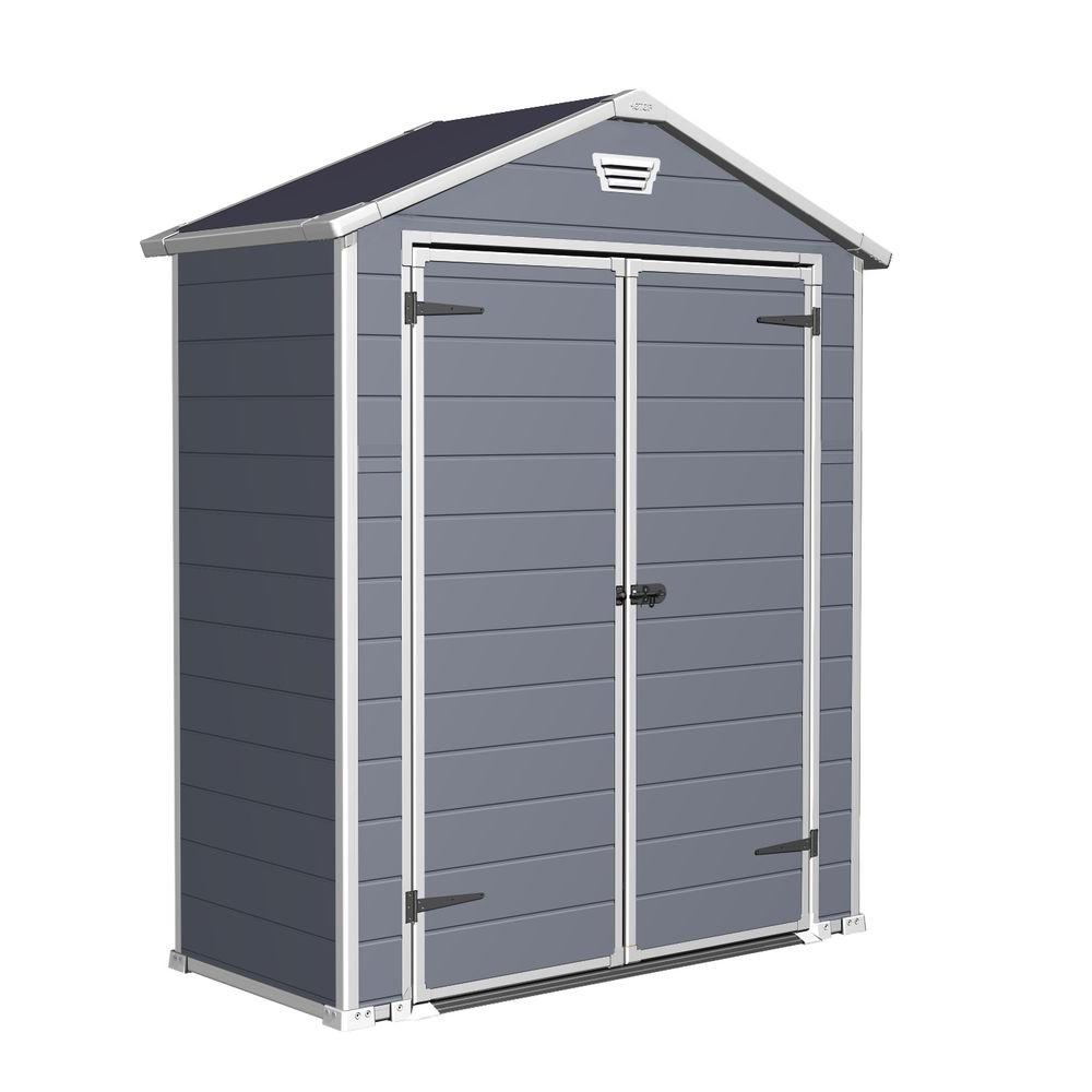Keter Manor 6 ft. x 3 ft. Outdoor Storage Shed