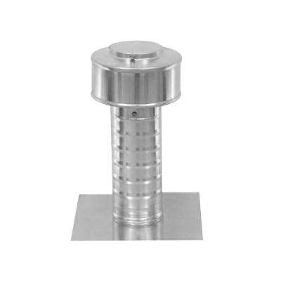 3 in. Dia Keepa Vent an Aluminum Roof Vent for Flat Roofs