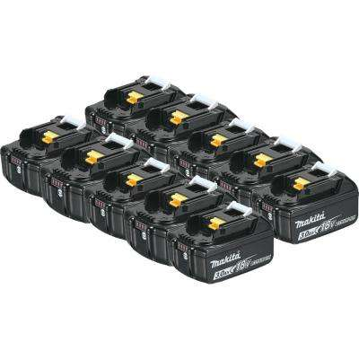 18-Volt LXT 3.0 Ah Lithium-Ion Battery (10-Pack)