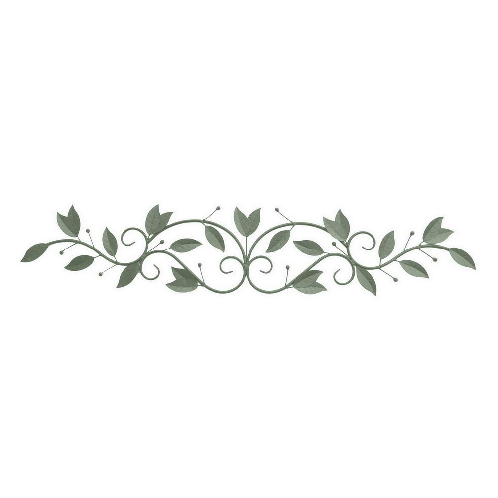 Green Metal Wall Decoration