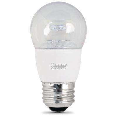 40W Equivalent Warm White A15 Dimmable LED Ceiling Fan Light Bulb (Case of 12)