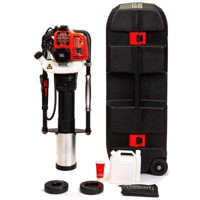 52cc Gas-Powered 2-Stroke T-Post Fence Post Driver with Toolkit and Storage Case, EPA Certified