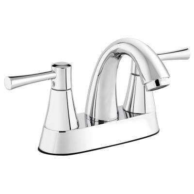Belanger 4 in. Centerset 2-Handle Bathroom Faucet in Polished Chrome