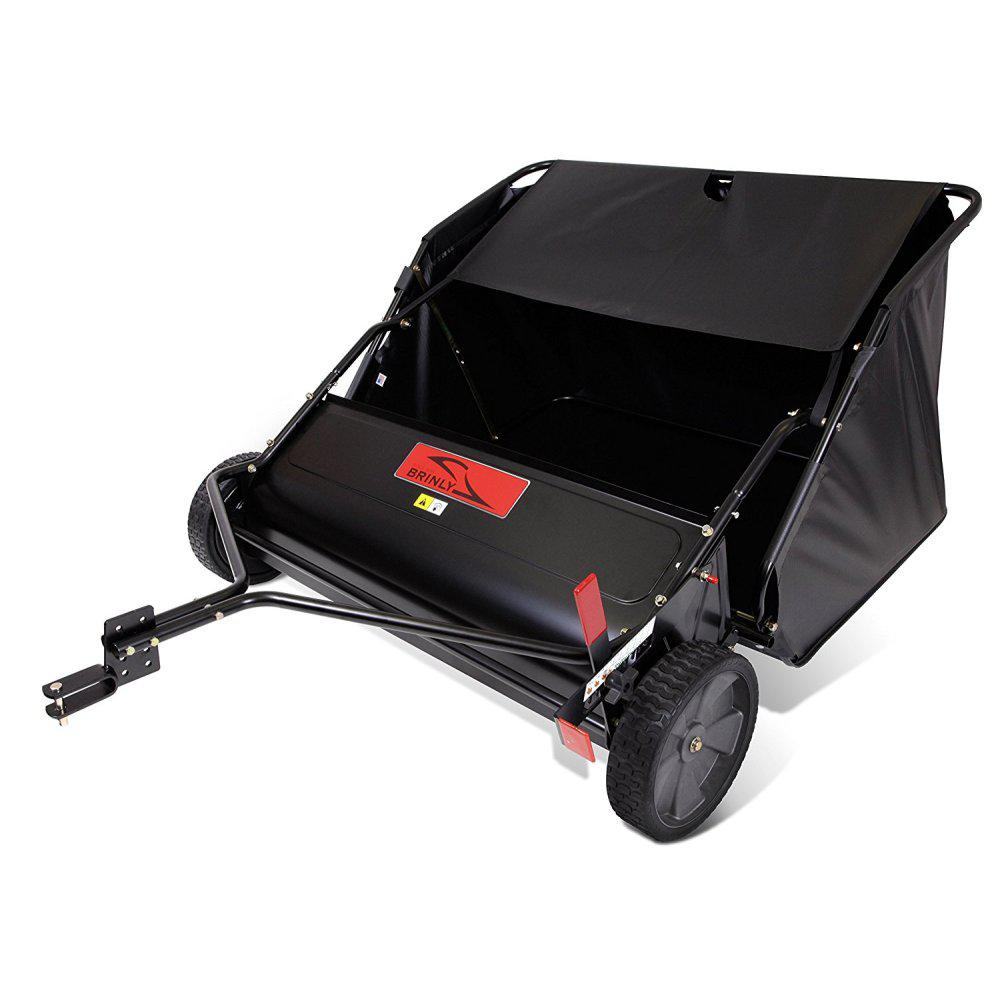 Brinly-Hardy 42 in. 6-Brush High-Speed Tow-Behind Lawn Sweeper