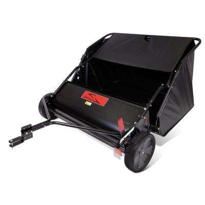 42 in. 6-Brush High-Speed Tow-Behind Lawn Sweeper