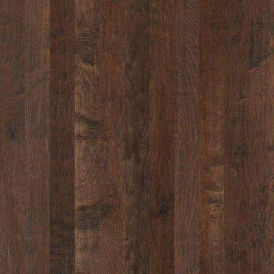 Take Home Sample - Western Hickory Saddle Solid Hardwood Flooring - 3-1/4 in. x 8 in.