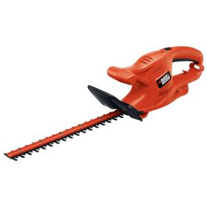 Click here to buy Black & Decker 16 inch 3.0-Amp Corded Electric Hedge Trimmer by BLACK+DECKER.