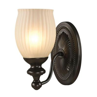 Kensall Green 1-Light Oil Rubbed Bronze Bath Light
