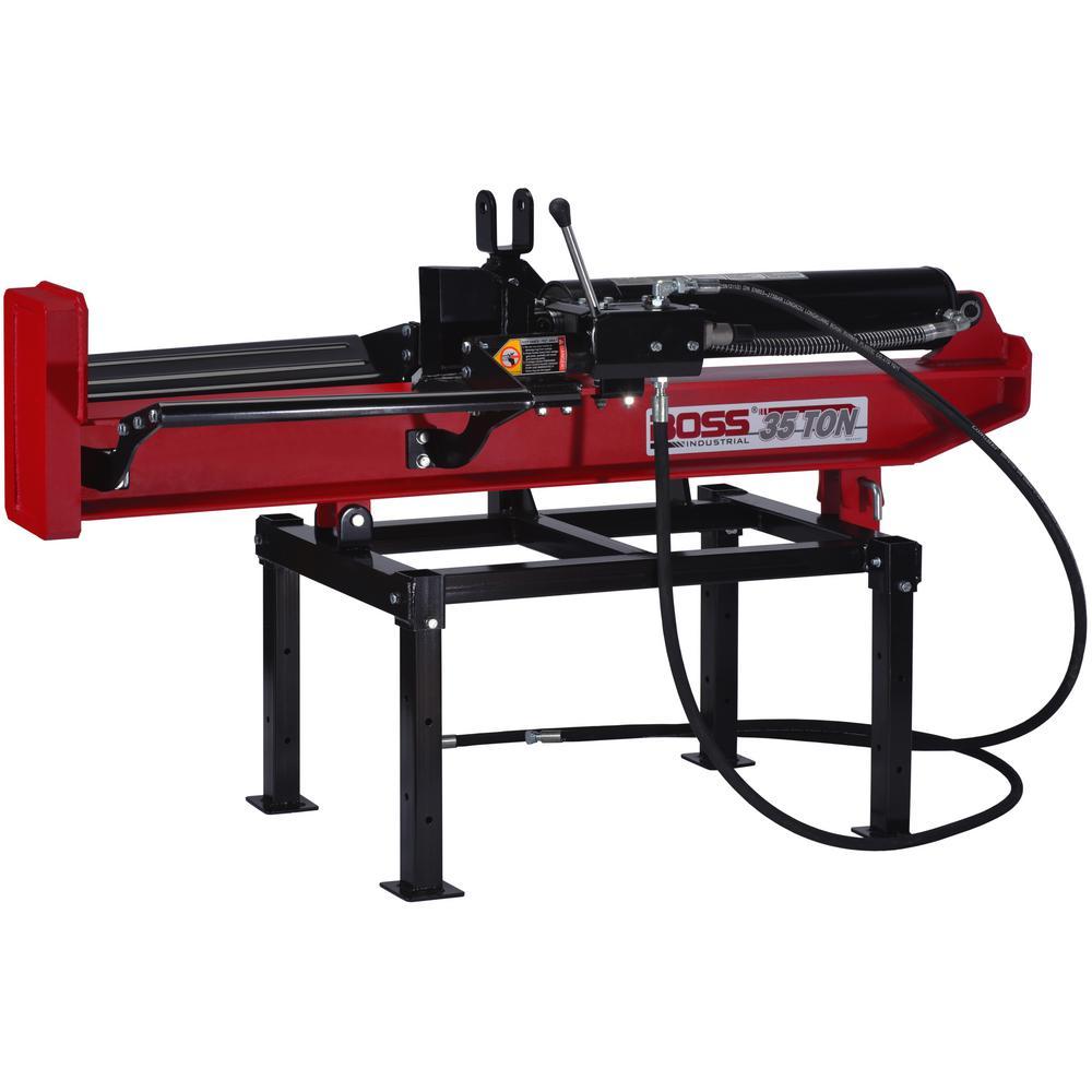 35-Ton 3-Point Hitch Horizontal/Vertical Log Splitter Commercial Grade