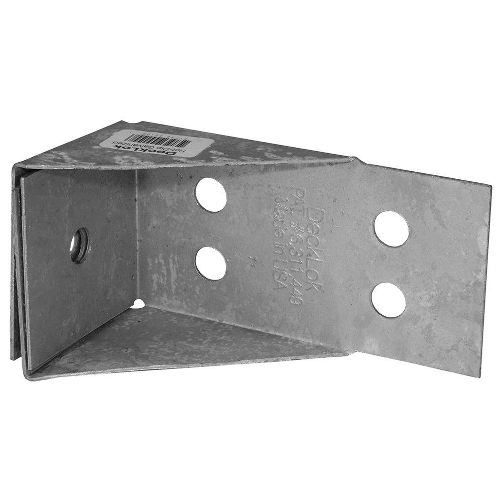 Hot Dipped Galvanized Steel DeckLok Lateral Anchor System for Deck to