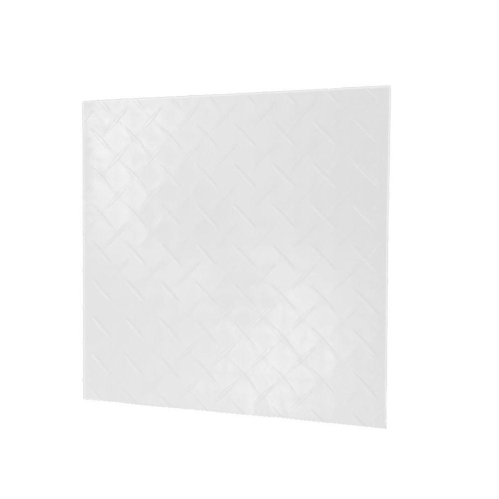 Viper Tool Storage 12 in. x 12 in. Racedeck Diamond Flooring in White