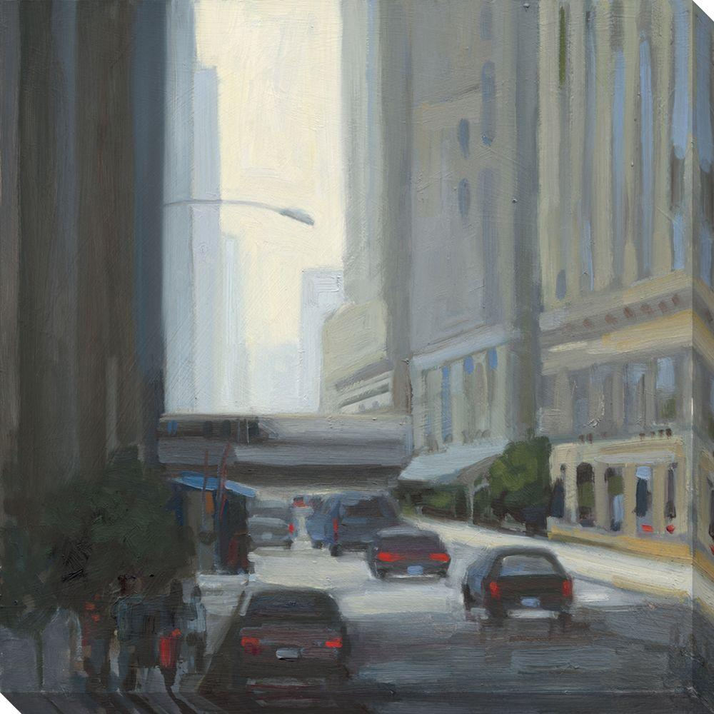 null 40 in. x 40 in. Downtown I Oversized Canvas Gallery Wrap
