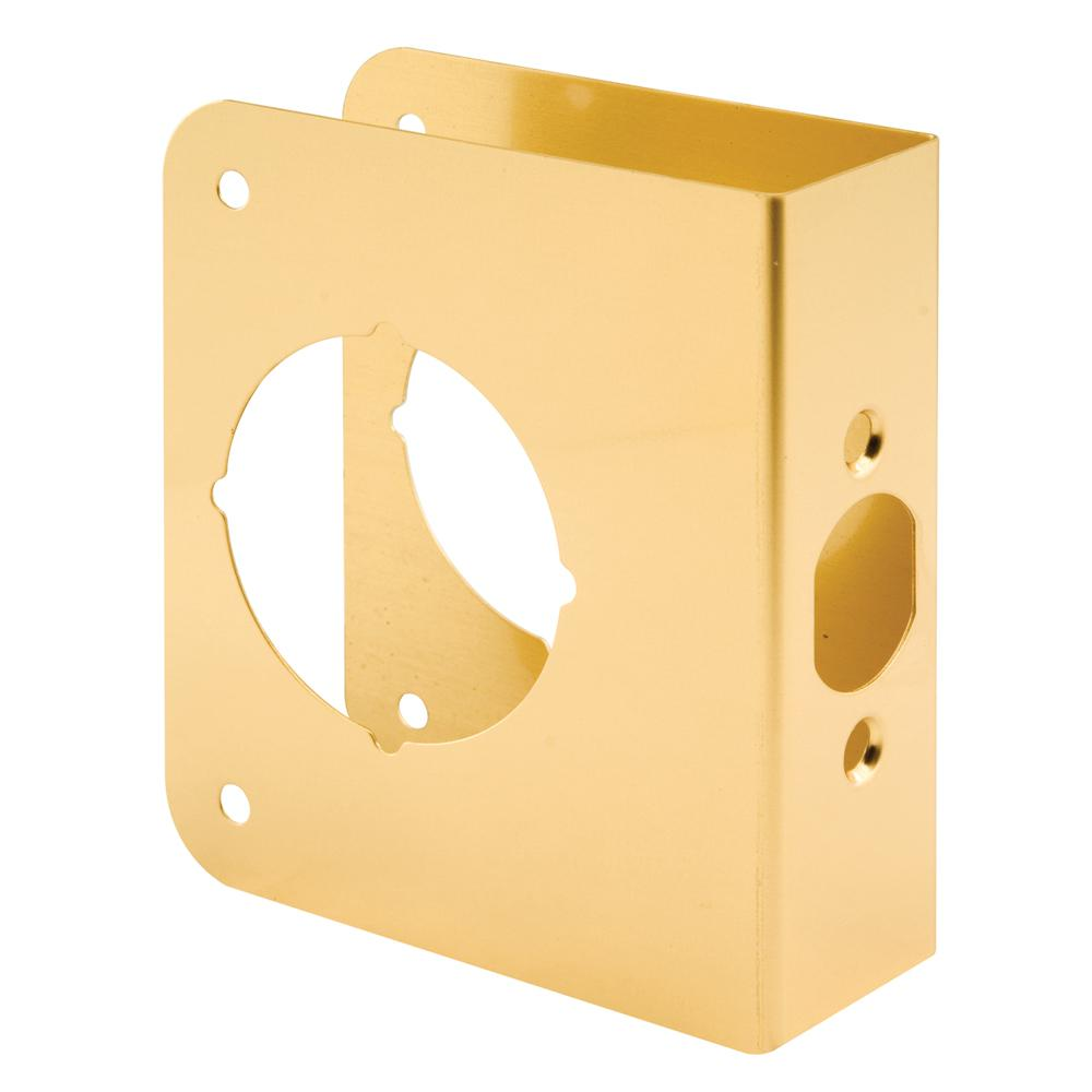 Prime Line 1 3 8 In X 4 1 2 In Thick Solid Brass Lock