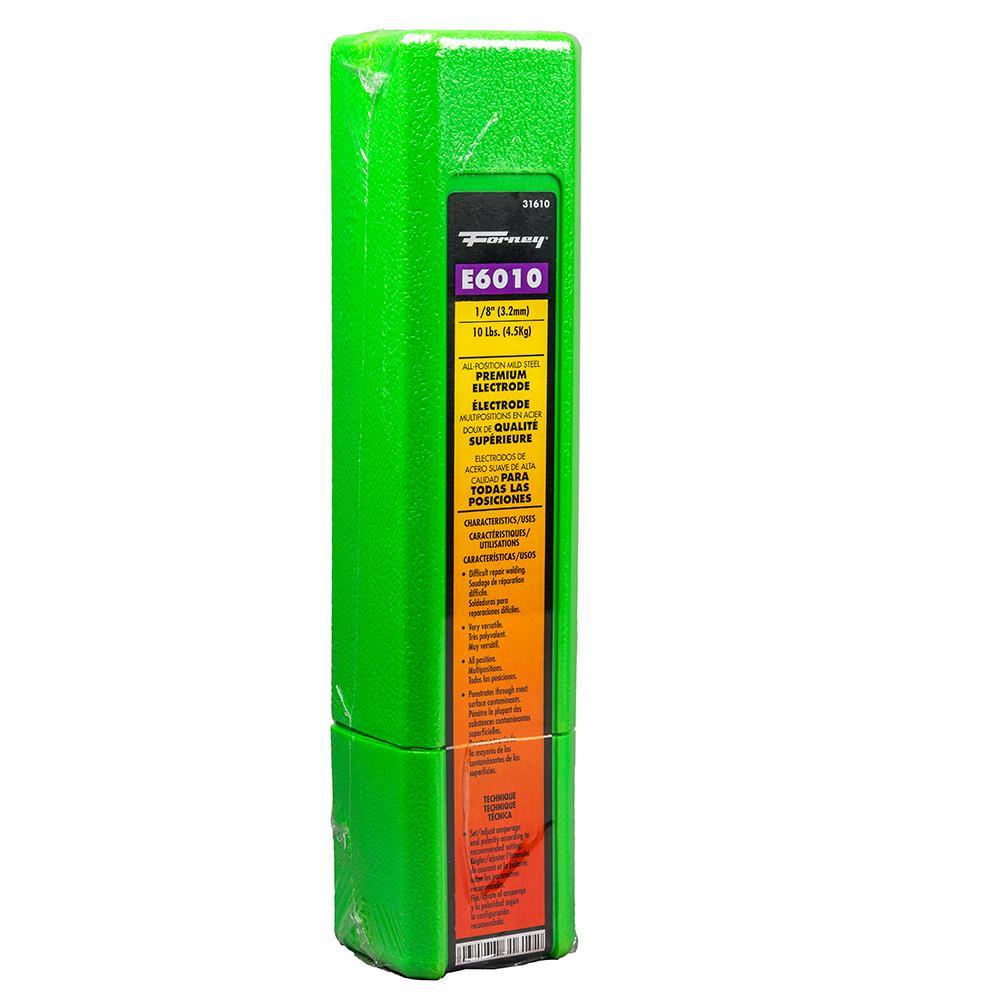 10-Pound Forney 31610 E6010 Welding Rod 1//8-Inch