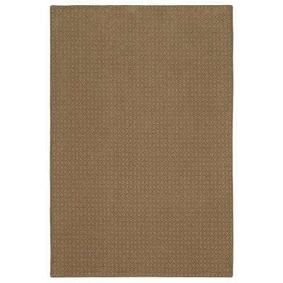 Pattern Sawyer Canoe Texture 6 ft. x 9 ft. Bound Carpet Rug